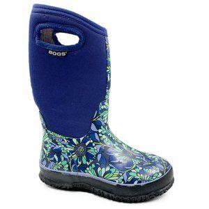 Bogs Classic Mumsie Floral Waterproof Rain Boots